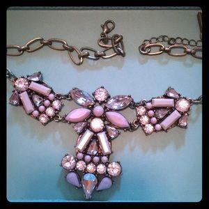 Jewelmint blanc isle jeweled statement necklace